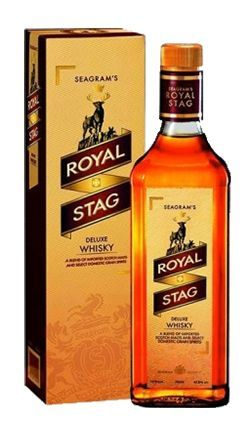 Royal Stag Blended Indian Whisky 750ml Whisky Whisky Bottle Personalized Whiskey Decanter