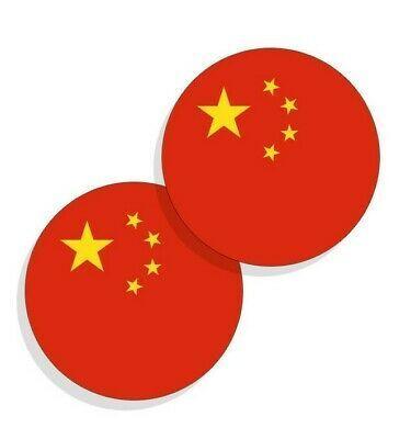 Ebay Link China Flag Stickers Chinese Flag Decals Vinyl Stickers Round 4 Pack Home Garden Homedcor Decalsstickersv In 2020 Flag Decal Sticker Flag Vinyl Sticker