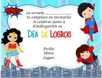 Invitación Promoción Motivo Super Héroes Invitaciones