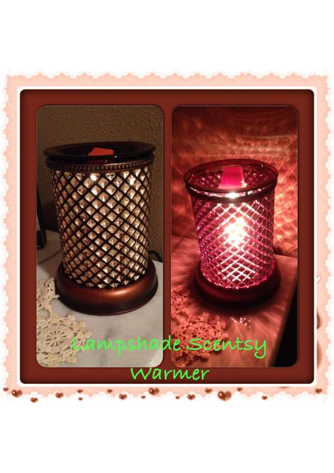 Lampshade warmer