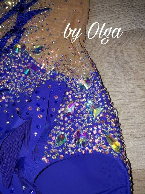 Made to order rhythmic gymnastic/circus/acrobatic/air gymnastic leotard navy blue competition dress 5000 crystals diamond Long sleeves