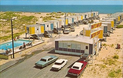 Lost Hotels Motels Of The 50 S 60 S Obx Connection Message Board Outer Banks Vacation Rentals Outer Banks Vacation Outer Banks Beach