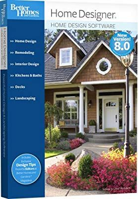 Better Homes And Gardens Home Design Software 8.0