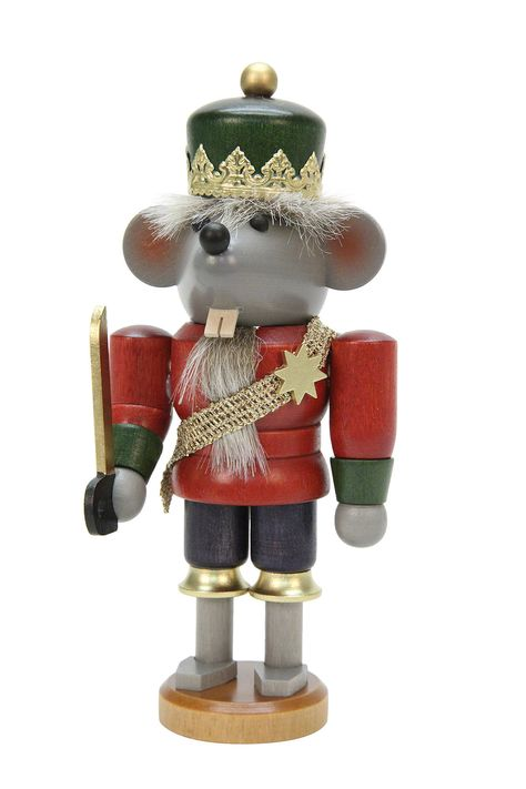 Nutcracker Mouse King glazed - 17cm / 7 inch