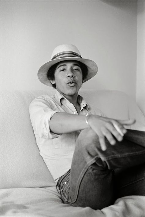 Photographs of Barack Obama as Barry the Freshman in 1980 by Lisa Jack