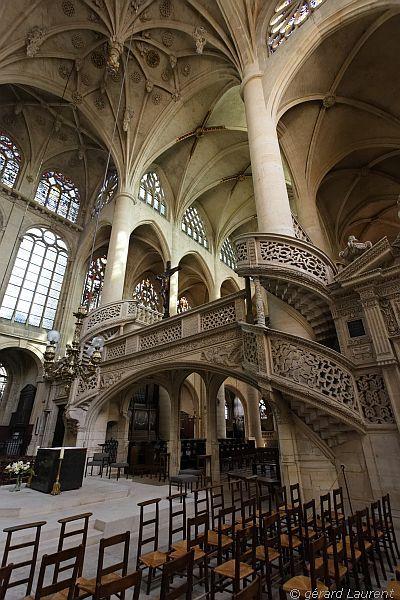 'Saint Etienne du Mont' church near the Pantheon, Paris / Photo credits: Gérard Laurent