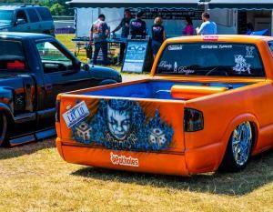 Scr8pfest 2019 In 2020 Bagged Trucks Custom Paint Car Show