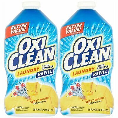 Advertisement Oxiclean Laundry Stain Remover Spray Refill 56 Oz