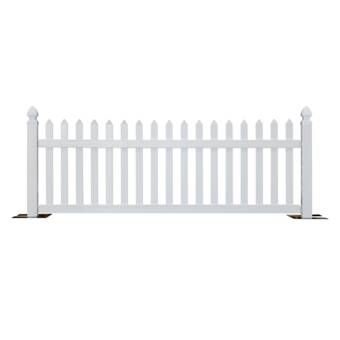 4 Ft H X 6 Ft W Nantucket Fence Fence Design Fence Panels Outdoor Screen Panels