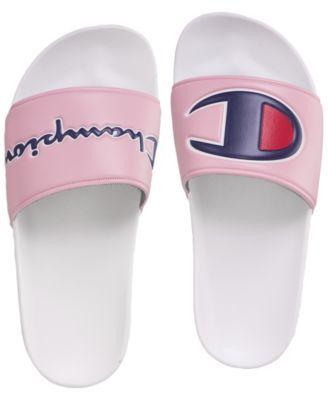 pink champion flip flops