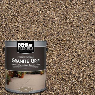 Behr Premium 1 Gal Gg 16 Baltic Stone Decorative Flat Interior Exterior Concrete Floor Coating 65501 Concrete Floor Coatings Concrete Floors Concrete Coatings