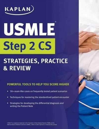 Kaplan Usmle Step 2 CS Strategies, Practice, \ Review Products - patient note