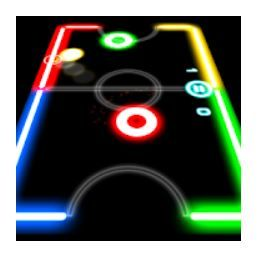 Glow Hockey Game Download Glow Hockey Online In 2020 Free Mobile Games Download Games Games To Play