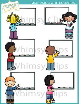 Kids Using Whiteboards Clip Art Clip Art Abc Preschool Classroom Clipart