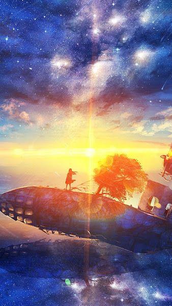 Sunrise Anime Scenery Horizon Stars 4k 3840x2160 Wallpaper