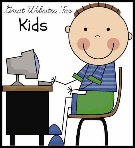 List of great websites for kids by subject.  Perfect for classroom or home use!