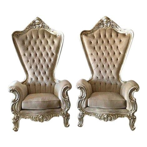 72 Takhta Throne Throne Chair Thrown Chair Rococo Chair