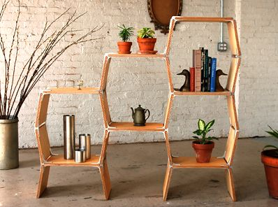 Idea For DIY Plant Stand From [Gone Thrifting: Upcycled Plant Tables]. Just  Need Some Brackets At The Appropriate Angles And Some Boards Cut To Sizu2026