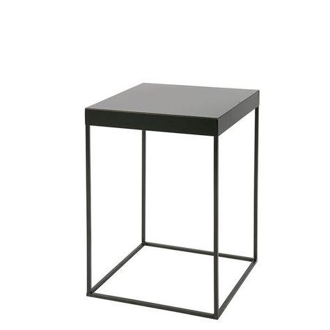 Table D Appoint Noir.Bloomingville Table D Appoint Design Industriel Metal Noir