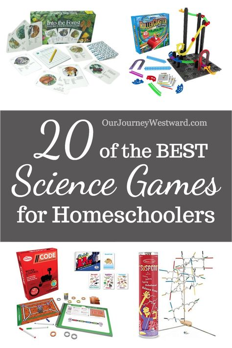 The best science games make great learning supplements for any homeschooling classroom. Games can help you teach a variety of science topics and motivate kids to practice skills with joy. Science Topics, Science Activities For Kids, Science Curriculum, Homeschool Curriculum, Homeschooling, Sensory Activities, Teaching Science, Educational Games, Educational Software