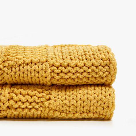 Best Zara Kids Home Products For Adults Spring 2018 Yellow Throw Blanket Zara Home Kids Zara Home