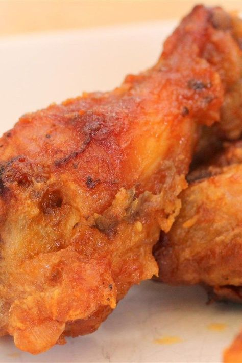 """Sweet Heat Chicken Wings   """"This simple sauce lives up to its name - full of sweet heat and low carb too! Perfect for game day snacking! """" #dinnerideas #dinnerrecipes #dinnerdishes #familydinnerideas"""