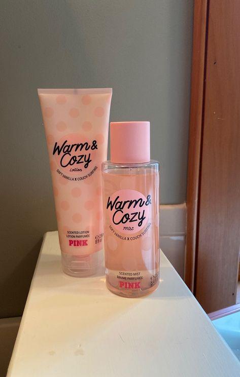 Nov 2019 - Warm and cozy pink perfume and lotion! Smells so good Bath And Body Works Perfume, Bath Body Works, Perfume Body Spray, Victoria Secret Fragrances, Victoria Secret Perfume, Chanel Perfume, Parfum Victoria's Secret, Perfume Collection, Bath And Body