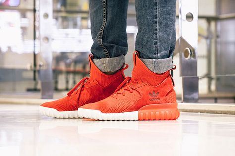 68b0492ecce0c Adidas tubular x primeknit runner red will Y-3 and Yeezy series of iconic  elements and design ideas into the Tubular shoes