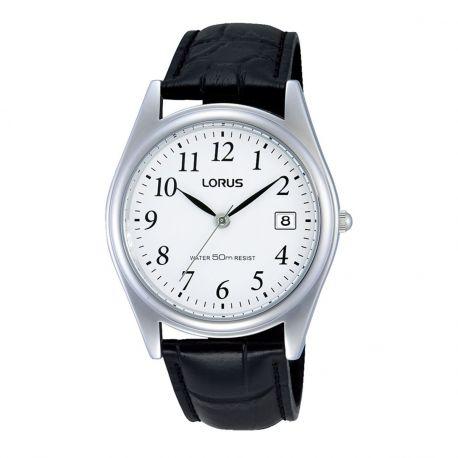 Reloj Lorus Piel Fechador Sencillo Modelo RS963BX9