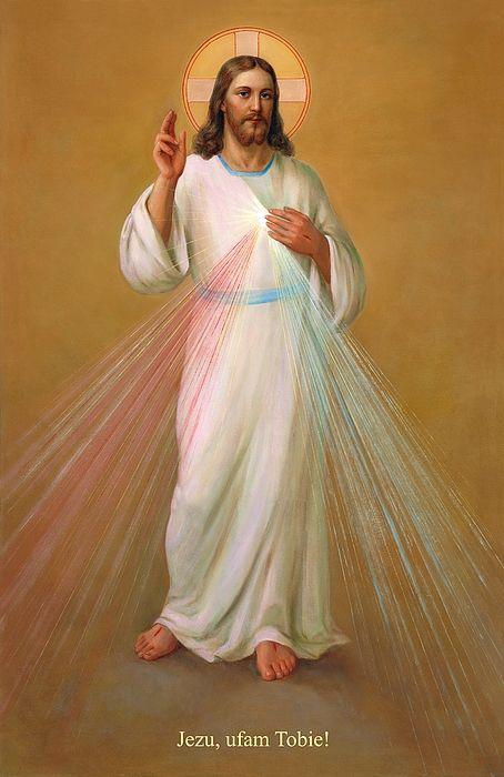 Jezu Ufam Tobie Jezus Chrystus By Svitozar Nenyuk Divine Mercy Jesus Divine Mercy Image