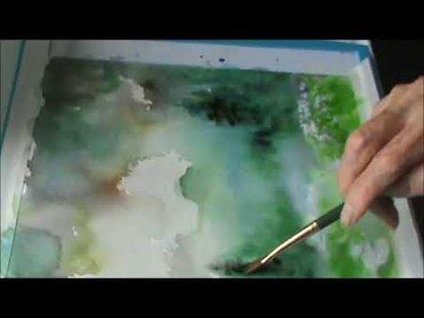Light Mood In Watercolour David Curtis Youtube Technique De