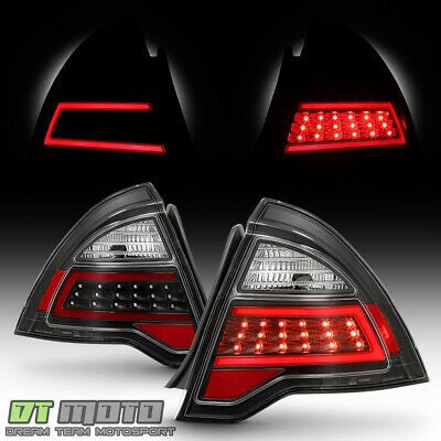 Ad Ebay New Black 2010 2011 2012 Ford Fusion Led Light Tube Tail Lights Lamps Left Right In 2020 Ford Fusion Led Tube Light Tail Light