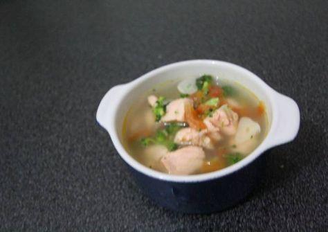 Resep Sup Ikan Salmon Segeerrr Mpasi 1 Tahun Ke Atas Oleh Diaz Resep Sup Ikan Resep Makanan Bayi Memasak