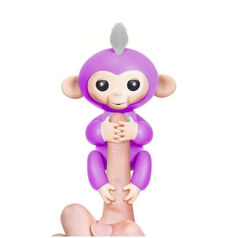 Fingerlings Interactive Baby Monkeys Toy Smart Colorful Finger