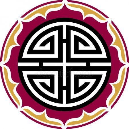 Cuatro Bendiciones Amuleto De La Suerte Chino Amuletos De La Suerte Símbolos Antiguos Simbolos De Suerte