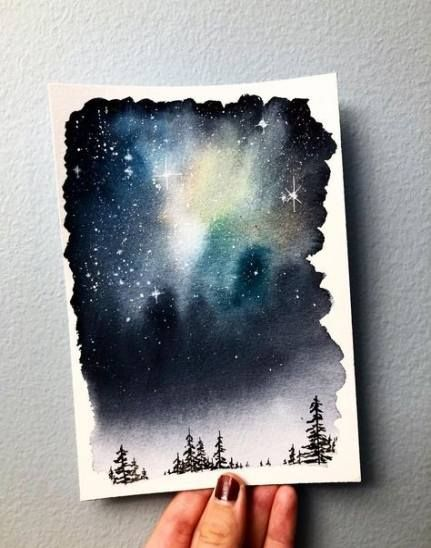 51 Ideas For Painting Canvas Watercolor Watercolour Painting
