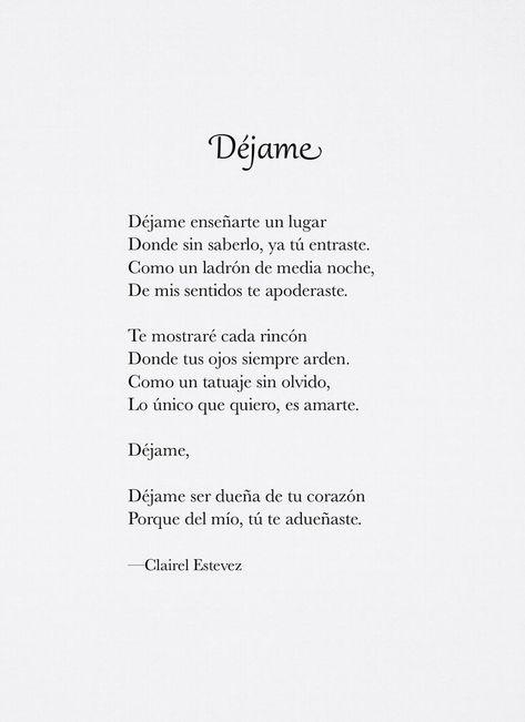 Escritos y poemas de amor