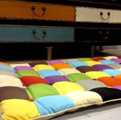 Alfombra de hecho a mano alfombra alfombra niños por HomeAtmosphere