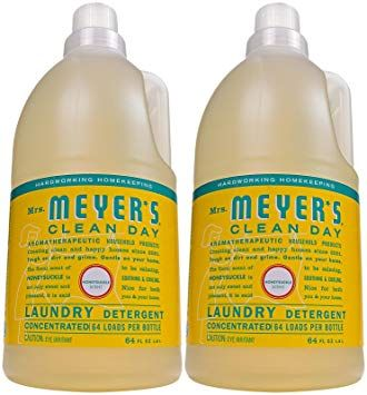 Mrs Meyer S Clean Day Liquid Laundry Detergent 64 Oz