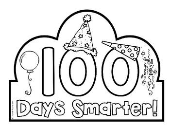 100th Day Of School Headband Crown Freebie 100th Day Of School