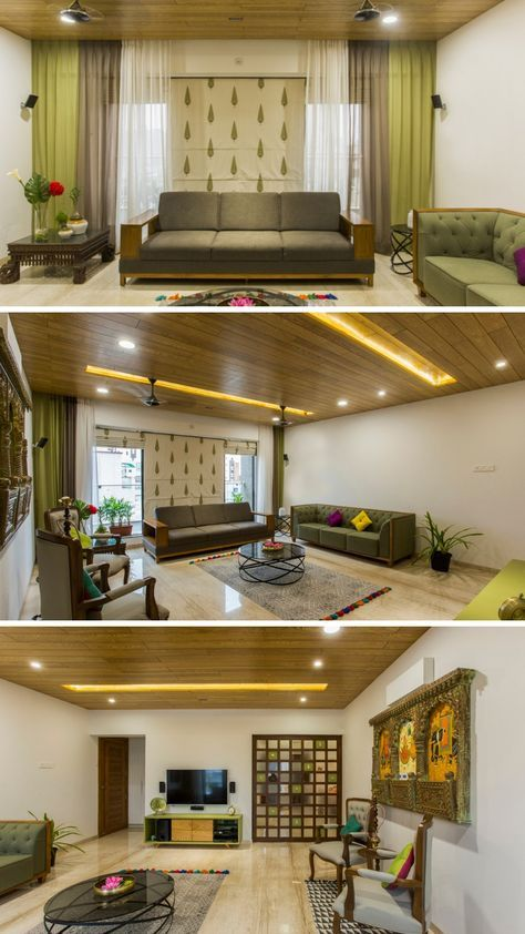 Fusion Of Modern And Traditional House House Interior Decor