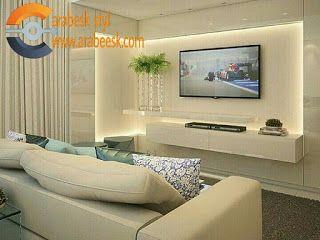 ديكورات جبس بورد شاشات تلفزيون Tv ديكورات جبس على الحوائط Home Interior Design House Interior Interior Design