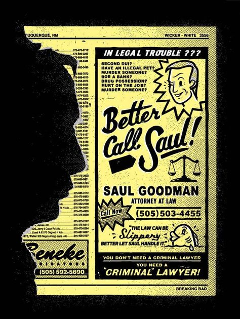 Better Call Saul Breaking Bad Disenos Para Remeras Y Carteles