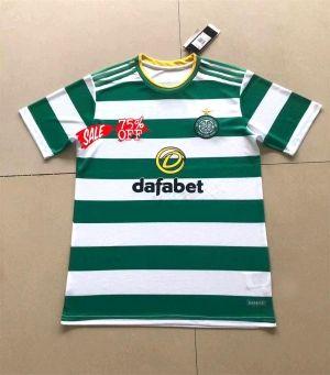 New Balance Official Mens Celtic FC Base Football Polo Shirt Top Green