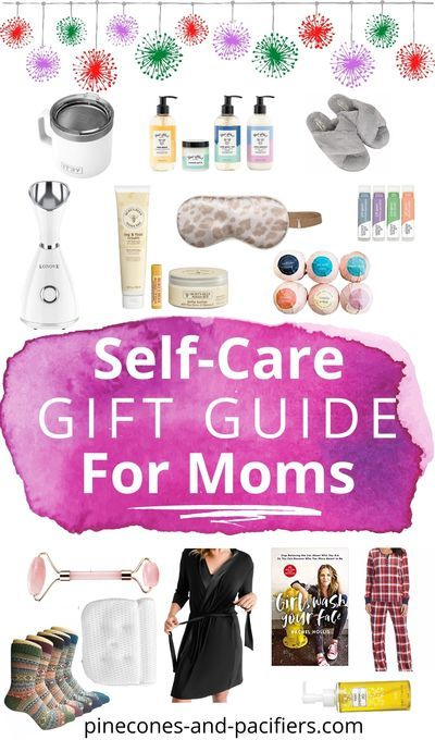 A list of 15 self-care gift ideas for moms! A holiday or anytime gift guide for yourself or the favorite moms in your life. #giftguide #motherhood #giftideas #holidaygiftguide #momgiftguide… More