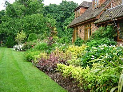 Garden Design North Facing north border design - google search | north facing border | pinterest