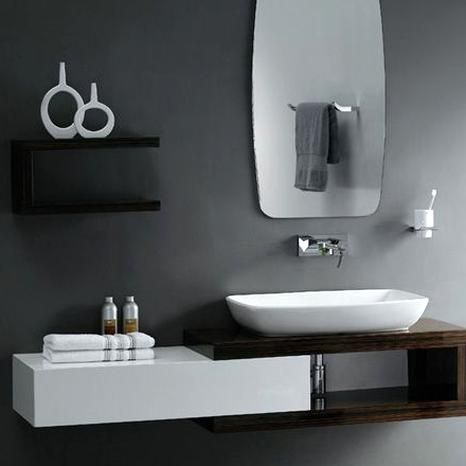 Captivating Bathroom Vanity Ideas For Small Bathrooms Design Cool Black And White In 2020 Bathroom Design Small Modern Modern Small Bathrooms Bathroom Vanity Designs