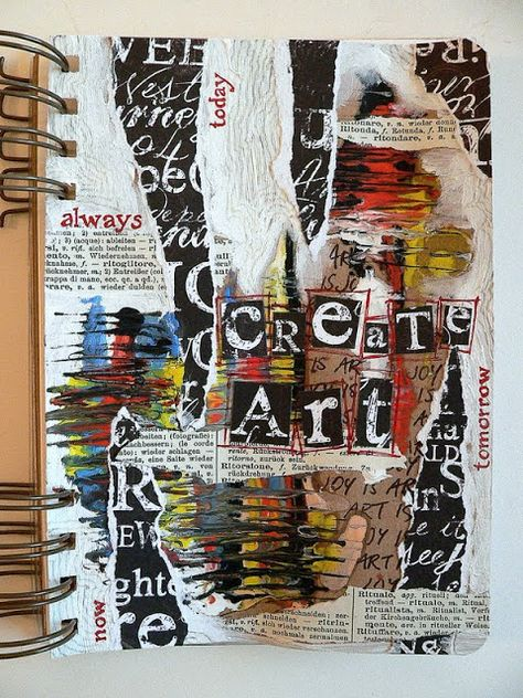 Claudia Neubacher / Von Pappe art journaling