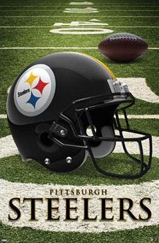 Image detail for -Pittsburgh Steelers OFFICIAL NFL HELMET LOGO POSTER - Costacos Sports