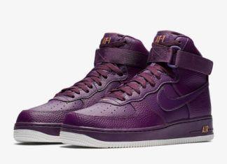 best website da895 49e4f Nike Air Force 1 High Purple Dropping Soon